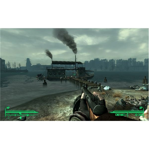 Fallout 3: Point Lookout Guide - Defending Calvert Mansion and Walking with Spirits