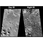 Day/Night Infrared examples from THEMIS. NASA.