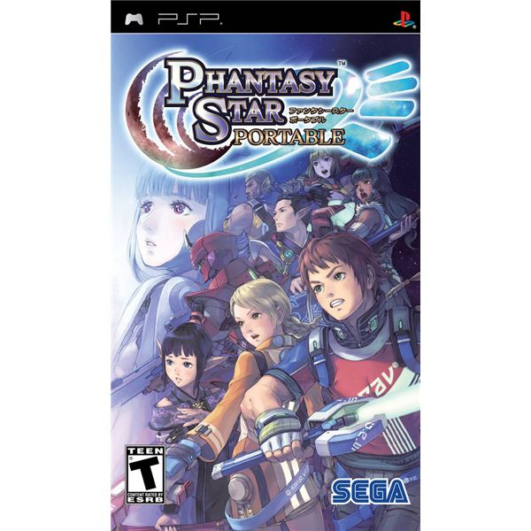 Phantasy Star Portable Review for Sony PSP