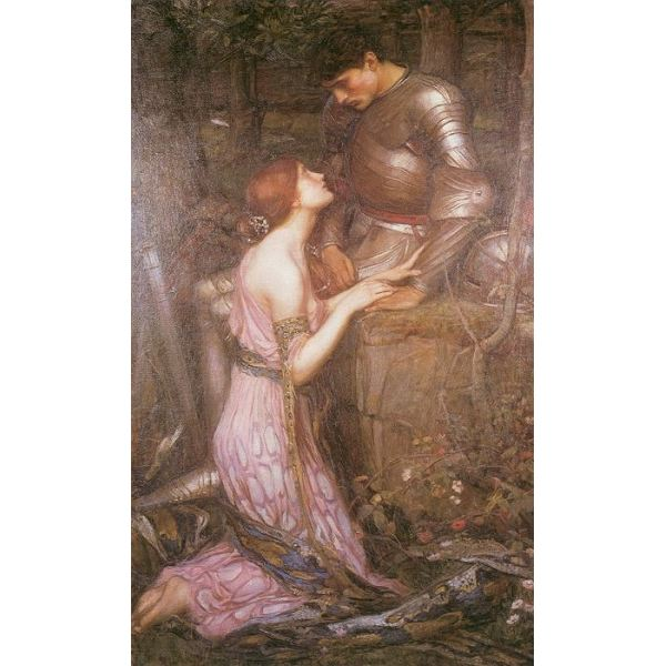 Lamia and the Soldier Waterhouse 1905