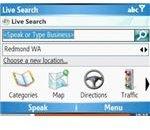 Windows Mobile Live Search