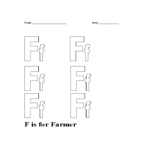F is for Farmer