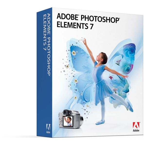 Photoshop Elements 7 Box Shot