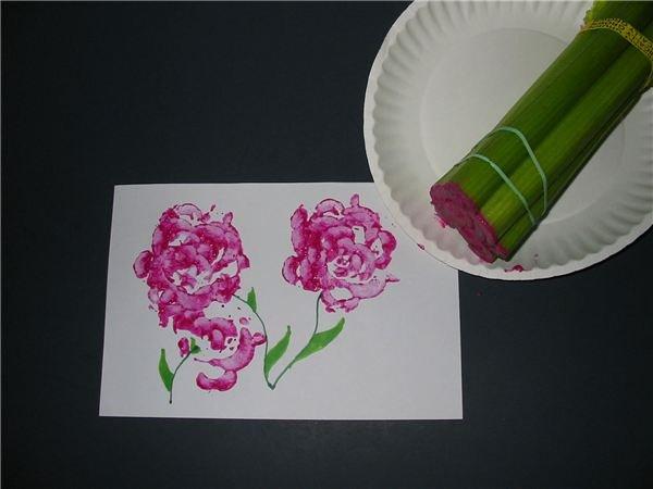 Celery Rose Print