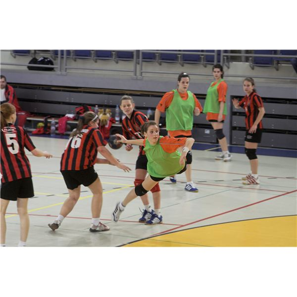 A Women's Handball Game
