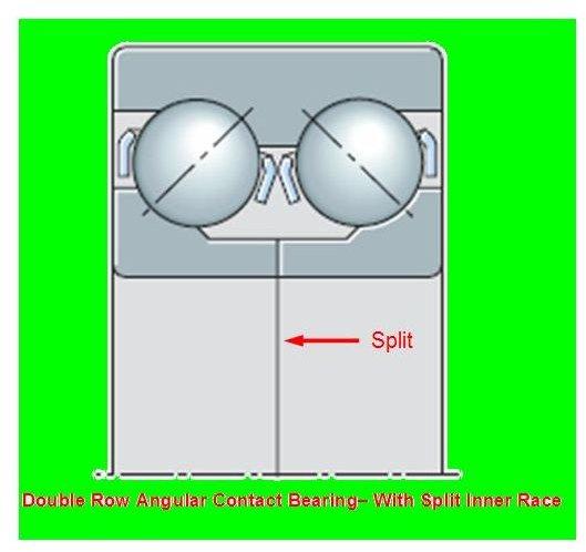 Angular Contact bearing - Split Inner race