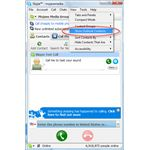 Figure 1 - Show Outlook Contacts in Skype