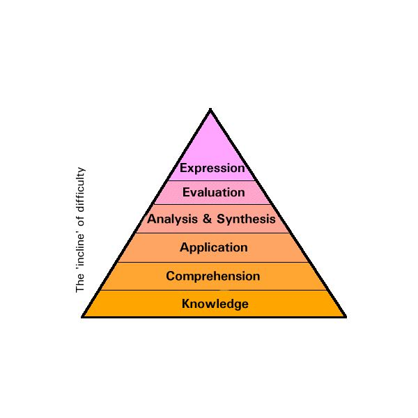 A Skill Pyramid for reference