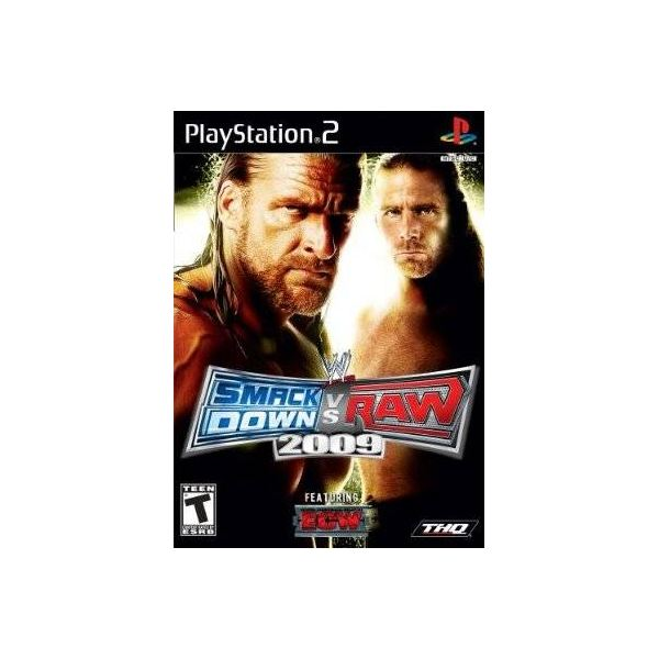 WWE Smackdown vs. Raw 2009 Review for PS2
