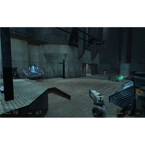 Half-Life 2 - These Turrets Are More Than Enough for the Battle at the Teleporter
