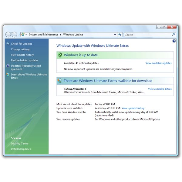 Installing Windows Vista Updates to Improve PC Performance and Security