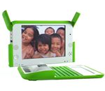 OLPC Green Laptop
