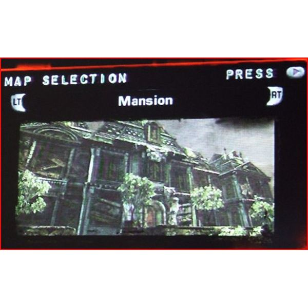 Gears of War 2 Map Selection