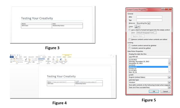 Creating the Form