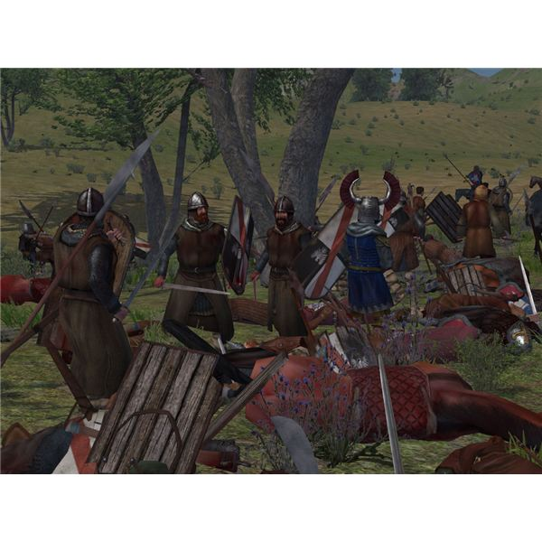 Mount & Blade battle