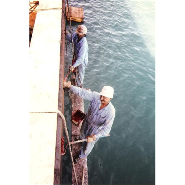 Painting Ship Side