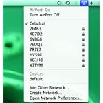 Connecting to a wireless network with OS X