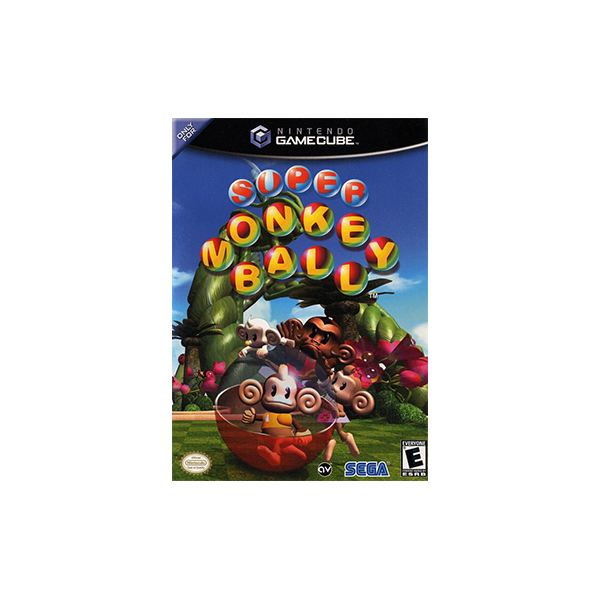 Super Monkey Ball cover art
