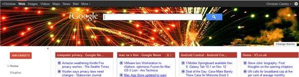 iThemes in iGoogle
