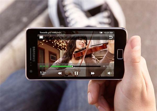 Samsung Galaxy S II Display