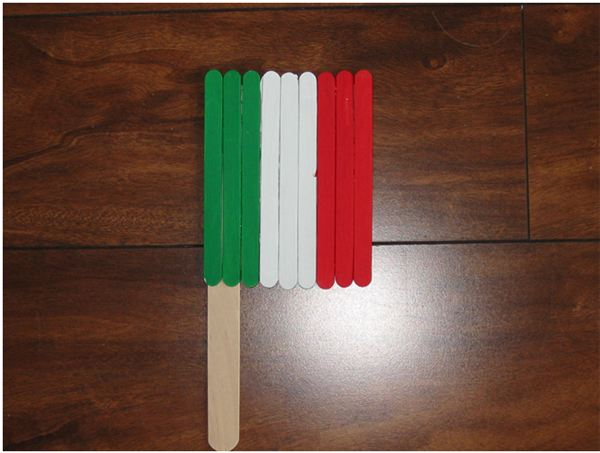 Italian Flag Replica