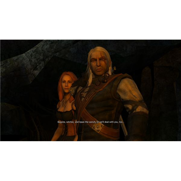 The Witcher - Geralt Can Either Defend or Condemn Abigail