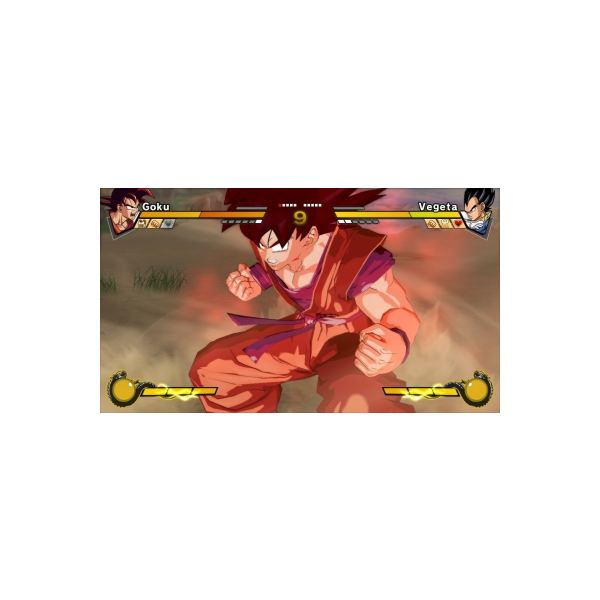 Goku Ready to Unleash his anger