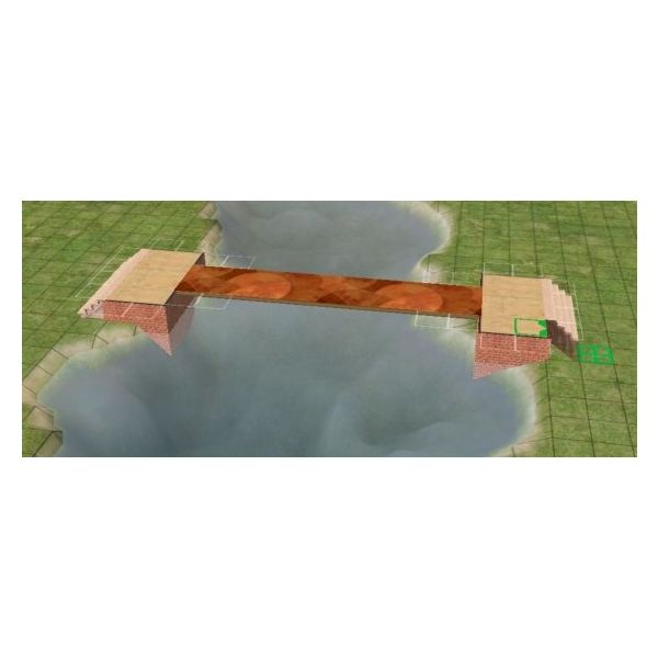 Building a Bridge in The Sims 2