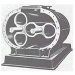 Twin Lobe Rotary Compressor