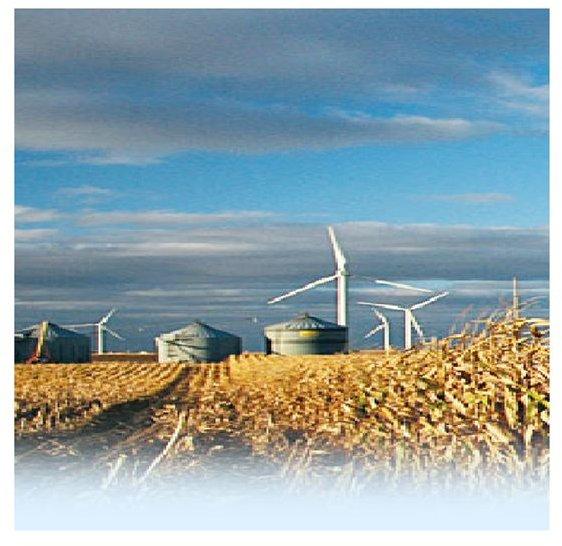 l Windfarm in Wheatfield (www.20percentwind.org)