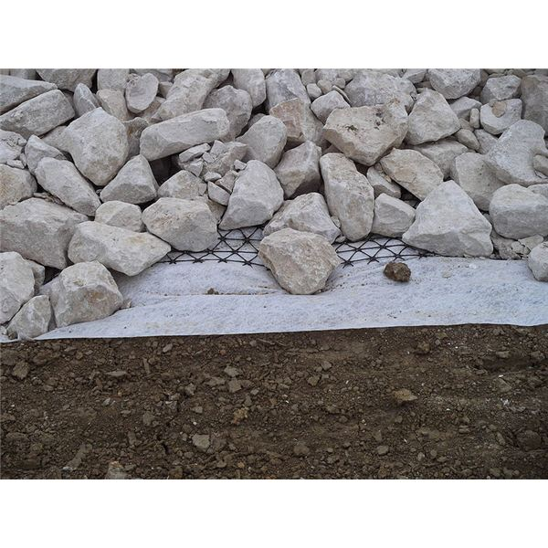 Geogrid and Geotextile