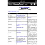 Viewing a PDF file on the iPod Touch