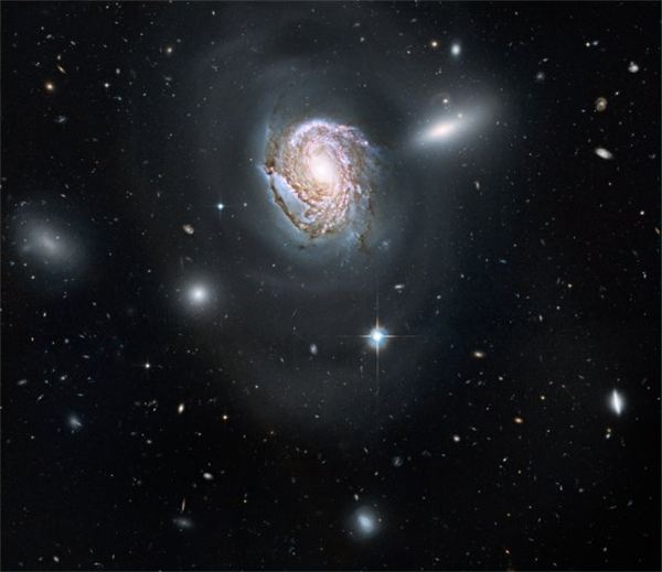 NGC 4911 in the Coma Cluster of Galaxies