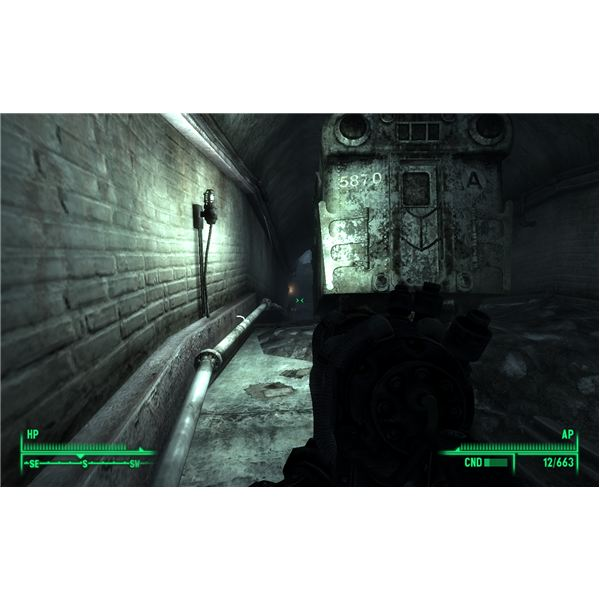 Fallout 3 - The Yellow Light Leads the Way to Grady's Package