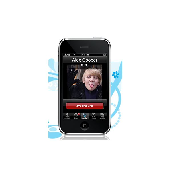 Skype app for the iPhone & ipod Touch