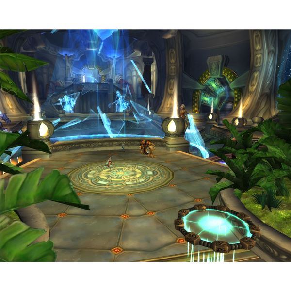 Ulduar, released in patch 3.1, is one of the game's largest raid instances.