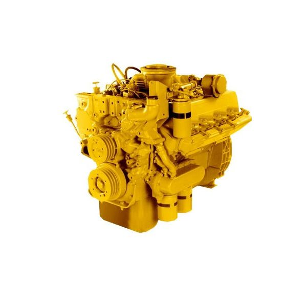 Cat 3208TA Marine Engine