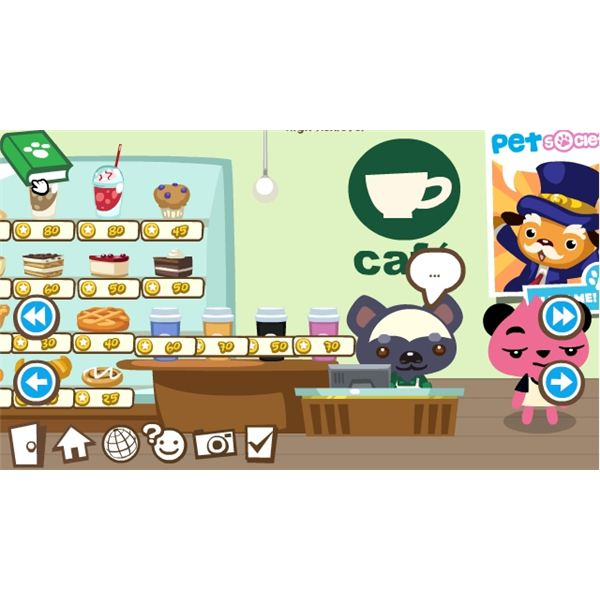 Pet Society Coins - Pet Society Cafe Screenshot
