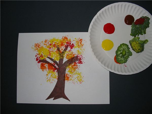 4 Fun Vegetable Print Art Project Ideas For Young Children