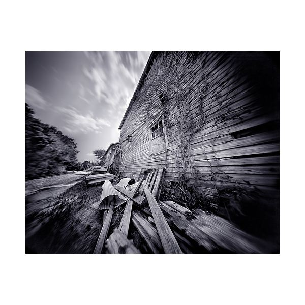 Fig 3 Photograph Taken With A Pinhole Camera