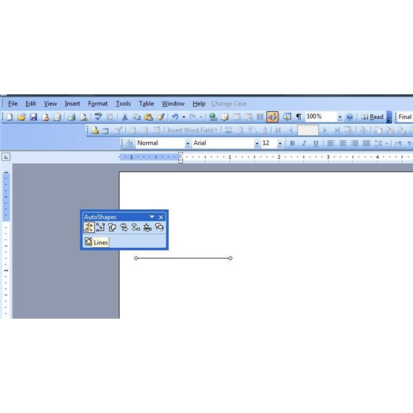 Drawing Lines In Powerpoint : How to draw a line in microsoft word step by guide