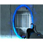 (5-4) In Portal you need to forget what you think you know about gravity and/or physics.