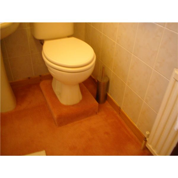 Toilet with 4