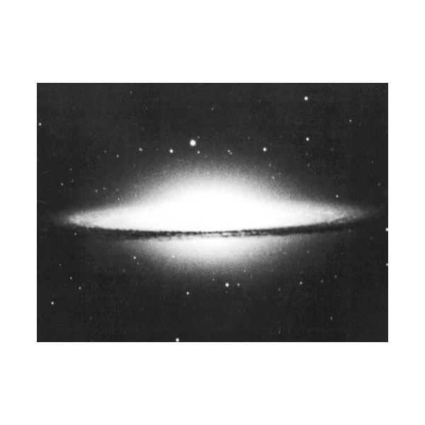 Classic image of the Sombrero galaxy