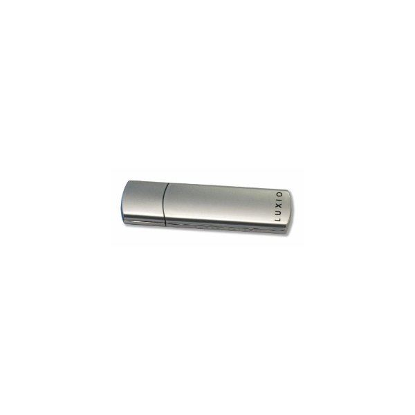 Super Talent 128 GB USB 2.0 Luxio (silver)