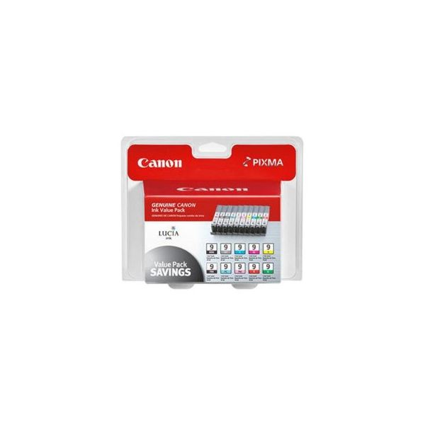 Canon multi pack of all 10 ink tanks