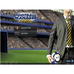 Football Manager 2010 start screen