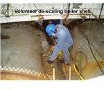 Boiler Shell De-scaling