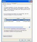 Fig 5 - Codecs in Windows Movie Maker