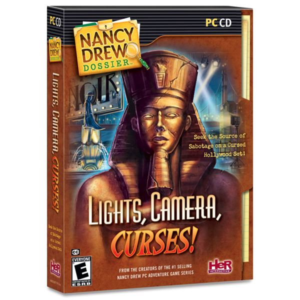 Nancy Drew Lights Camera Curses Box